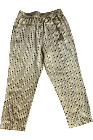 ASCENO \N Silk Trousers for Women
