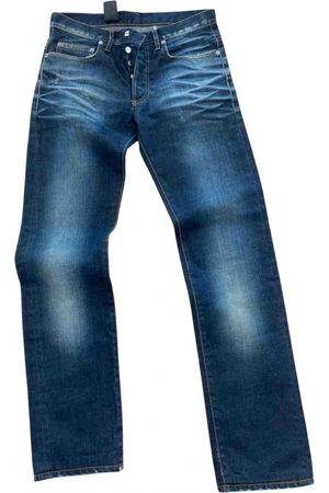 Dior Navy Cotton Jeans