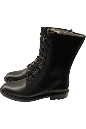 Céline Academy Leather Boots for Men