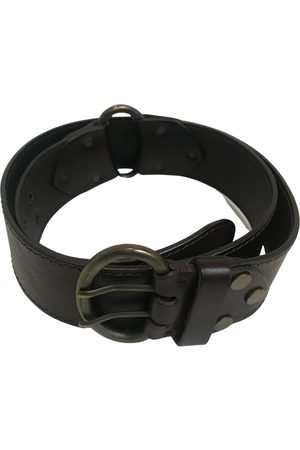 Max Mara \N Leather Belt for Women