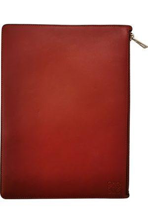 Loewe \N Leather Clutch Bag for Women