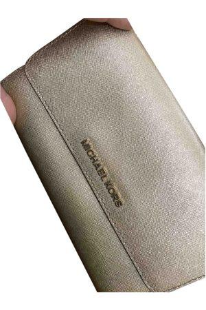 Michael Kors Selma Leather Clutch Bag for Women