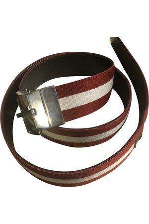 Bally \N Leather Belt for Men