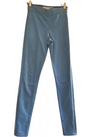 Victoria Beckham \N Cotton Trousers for Women