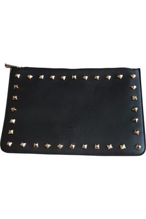 VALENTINO GARAVANI My Rockstud Leather Clutch Bag for Women