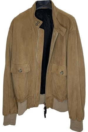 Ami \N Leather Jacket for Men