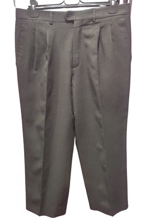 Paco rabanne VINTAGE \N Wool Trousers for Men