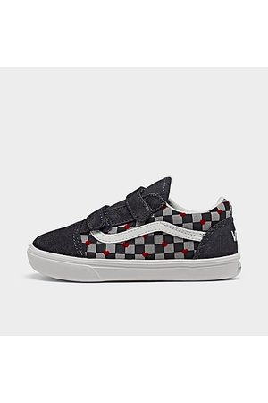 Vans Casual Shoes - Girls' Toddler ComfyCush Old Skool 5 Casual Shoes in / Heart