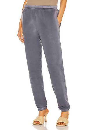 Les Tien Classic Sweatpant in Navy