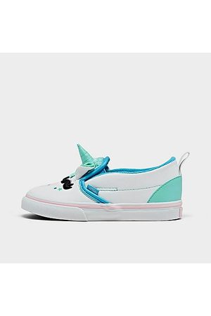Vans Casual Shoes - Girls' Toddler Disco Unicorn Slip-On Casual Skate Shoes in /
