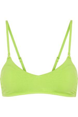 Melissa Odabash Vienna lime bikini top