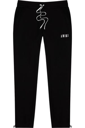 AMIRI Men Sports Pants - Logo cotton sweatpants