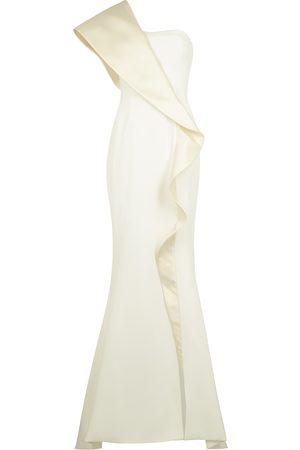 Azzi & Osta Women Evening dresses - Ruffle-trimmed gown