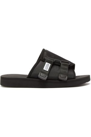 SUICOKE Men Sandals - Kaw-cab Technical-twill Slides - Mens