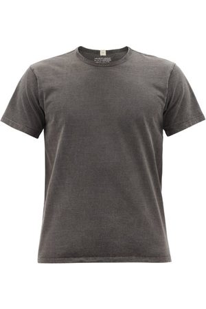 Lady White Co. Our Cotton-jersey T-shirt - Mens - Dark Grey