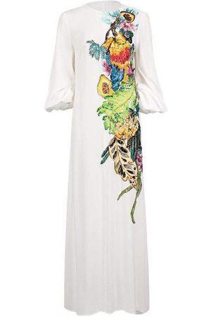 Stella Jean Women Maxi Dresses - Hand Painted Maxi Dress
