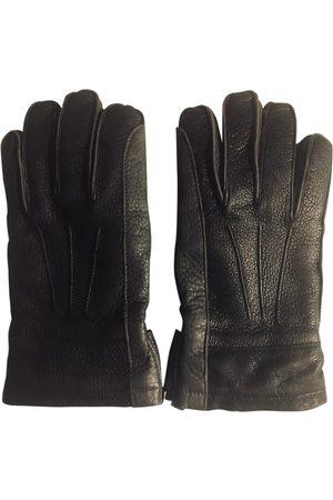 Marni \N Leather Gloves for Men