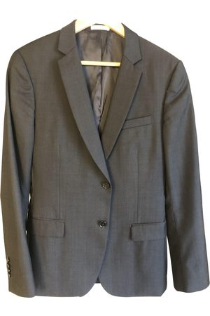 De Fursac Grey Wool Jackets