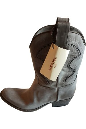 SARTORE Women Boots - \N Leather Boots for Women