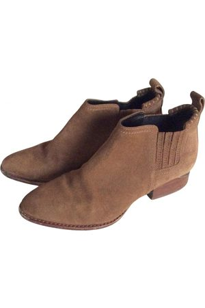 Alexander Wang Kori Suede Ankle boots for Women