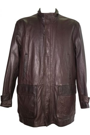 Salvatore Ferragamo \N Leather Jacket for Men
