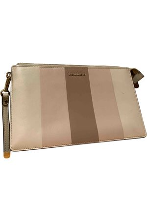 Michael Kors Adele Leather Clutch Bag for Women