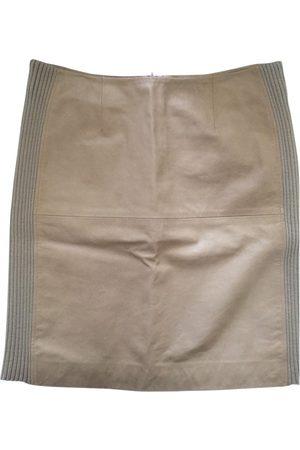 Paco rabanne \N Leather Skirt for Women