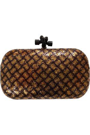 Bottega Veneta Pochette Knot Glitter Clutch Bag for Women