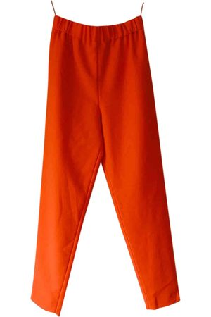 MAISON RABIH KAYROUZ \N Wool Trousers for Women