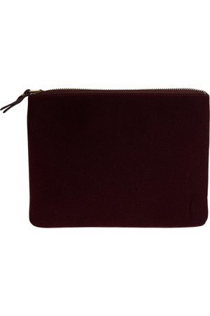Comme des Garçons \N Velvet Clutch Bag for Women