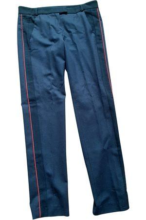 Maje Women Straight Leg Pants - Wool straight pants