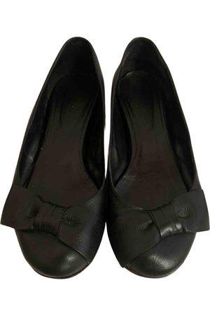 Sonia by Sonia Rykiel \N Leather Ballet flats for Women