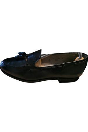 Alden Men Flat Shoes - \N Leather Flats for Men