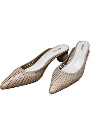 Cult Gaia \N Leather Mules & Clogs for Women