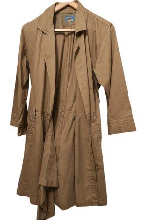 Kenzo Khaki Cotton Trench Coats