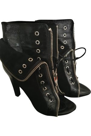 Alexander Wang Women Ankle Boots - \N Leather Ankle boots for Women