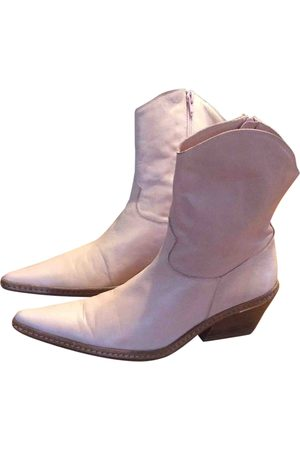 Joseph \N Leather Ankle boots for Women