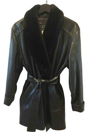 Cerruti 1881 \N Leather Coat for Women