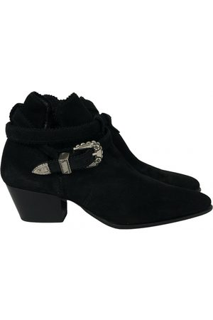 Sandro \N Suede Ankle boots for Women