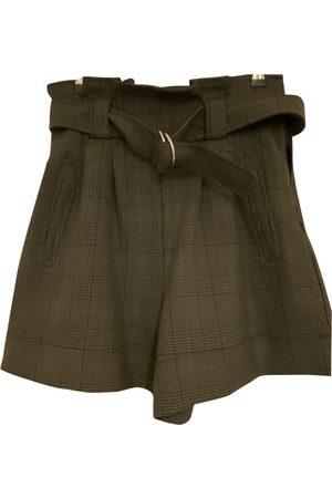 Ganni \N Wool Shorts for Women