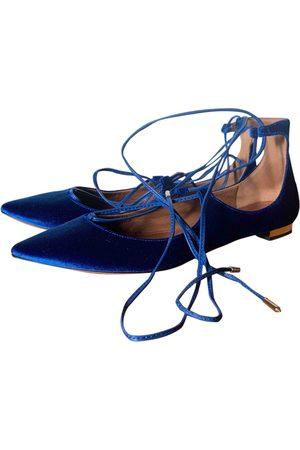 Aquazzura \N Velvet Ballet flats for Women
