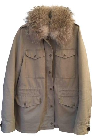Army \N Cotton Coat for Women