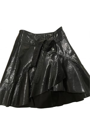 Maje Fall Winter 2019 Patent leather Skirt for Women