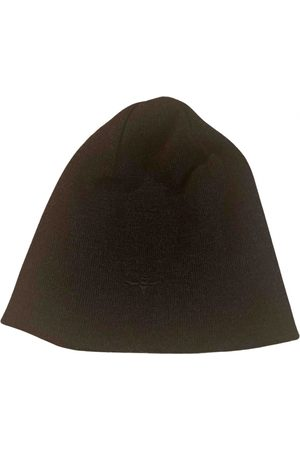 Dior Anthracite Wool Hats & Pull ON Hats