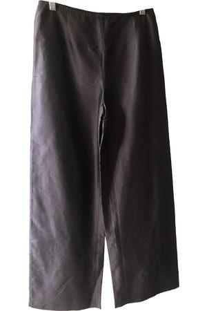 Max Mara Women Pants - \N Silk Trousers for Women