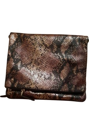 Zadig & Voltaire Rock Leather Clutch Bag for Women