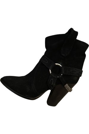 Isabel Marant Women Ankle Boots - Gaucho Suede Ankle boots for Women