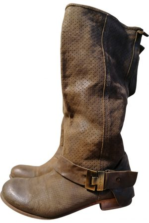 La Mania \N Leather Boots for Women