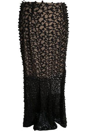 By Malene Birger Velvet maxi skirt