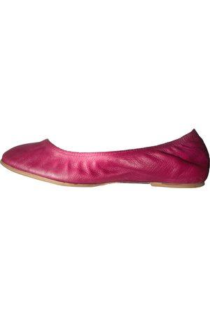 Lanvin Women Ballerinas - \N Leather Ballet flats for Women